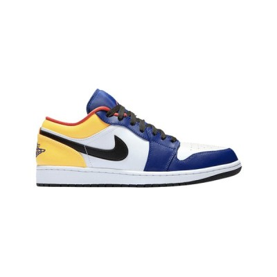 NIKE AIR JORDAN 1 LOW GS 'ROYAL YELLOW' ナイキ エア ジョーダン 1 ローカット 【BOY'S】 white/track red-deep royal blue 553560-123