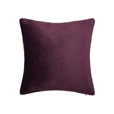 <新品>(キングローズ) King Rose ソリッドベルベットスロー枕カバー 超高級 ソフトクッションカバー 多