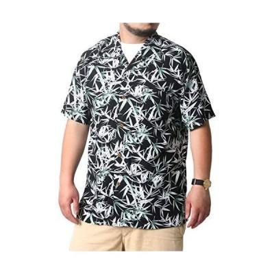 [ルーシャット] 大きいサイズ メンズ シャツ アロハシャツ レーヨン 和柄 (柄D 3L)