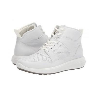 ECCO エコー レディース 女性用 シューズ 靴 スニーカー 運動靴 Soft 7 Runner Ankle Boot - White