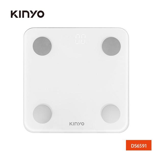 KINYO LED藍牙智能體重計  DS6591 廠商直送