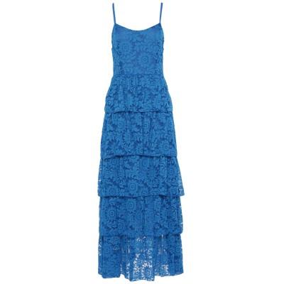 オディエアモ ODI ET AMO ロングワンピース&ドレス ブライトブルー L ナイロン 90% / ポリウレタン 10% ロングワンピース&ドレス