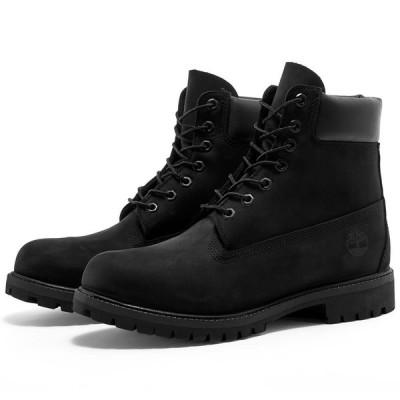 """ティンバーランド Timberland メンズ ブーツ シューズ・靴 6"""" Premium Boot Black Nubuck"""