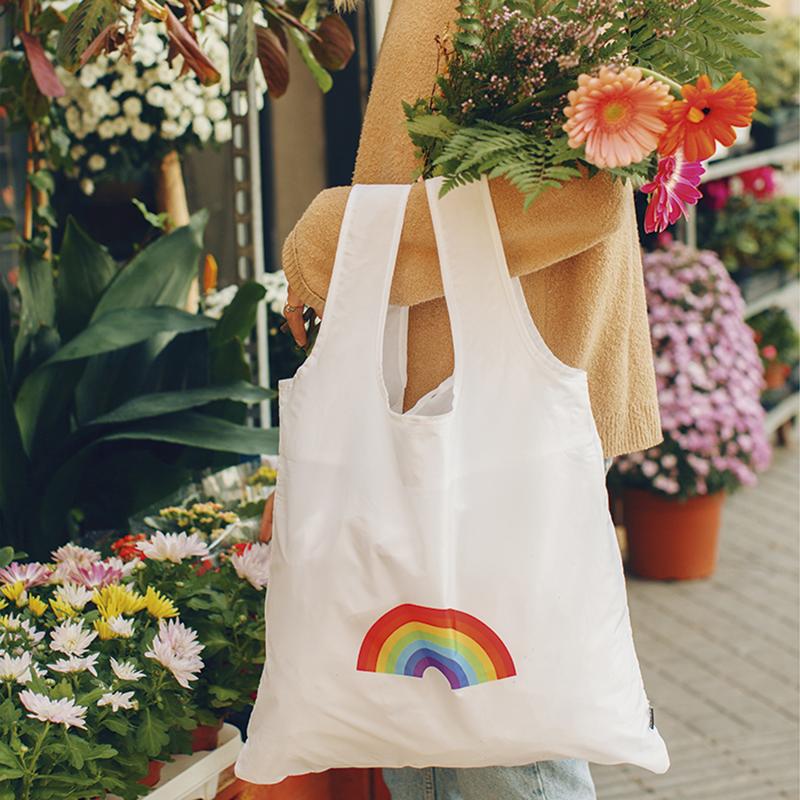 【DOIY】環保購物袋(彩虹)