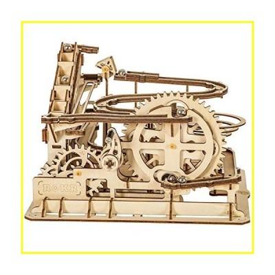 新品   ROKR Marble Run Wooden Model Kits 3D Puzzle Mechanical Puzzles for Teens and Adults(Waterwheel Coaster)   並行輸入品
