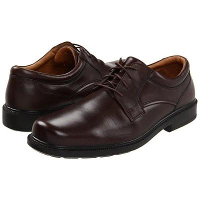 ハッシュパピー Strategy メンズ オックスフォード Brown Leather