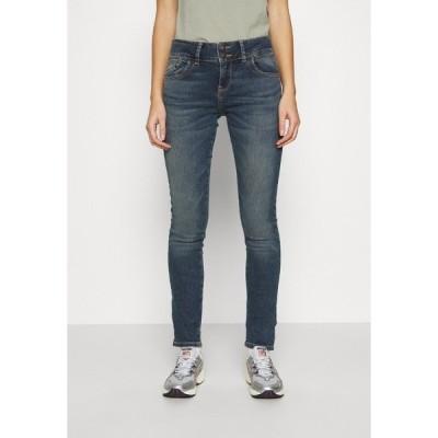 エル ティ ビー デニムパンツ レディース ボトムス Slim fit jeans - noire wash