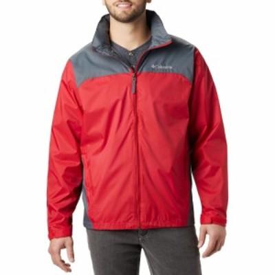 コロンビア Columbia メンズ レインコート アウター Glennaker Lake Rain Jacket Mountain Red/Graphite