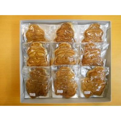 送料無料 青森県名産品 どら焼き しゃこちゃんどら焼き 9個入り どらやき/ 贈り物 グルメ ギフト 母の日