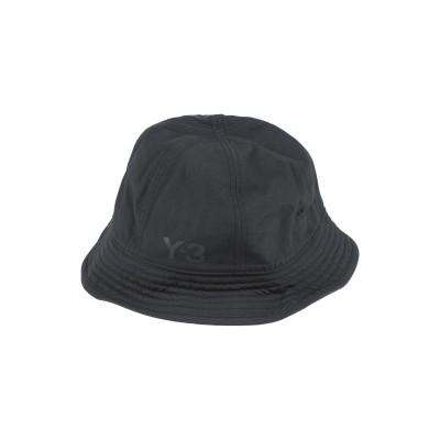 ワイスリー Y-3 帽子 ブラック one size ナイロン 100% 帽子