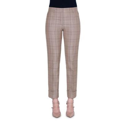 アクリス レディース カジュアルパンツ ボトムス Maxima Plaid Wool Crop Pants