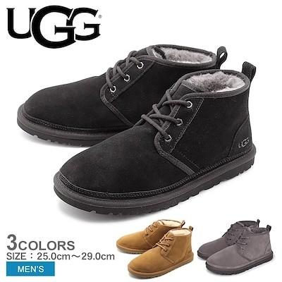 UGG アグ ムートンブーツ ニューメル NEUMEL 3236 メンズ ショートブーツ