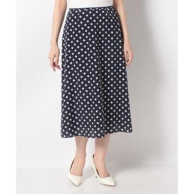 MISS J / ミス ジェイ ドットプリントスカート