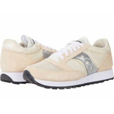 Saucony Originals サッカニー メンズ 男性用 シューズ 靴 スニーカー 運動靴 Jazz Original Vintage Tan/White/Silver【送料無料】