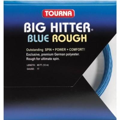 トーナ Tourna ユニセックス テニス Big Hitter Rough 17 Tennis String - 40 ft. Set Blue