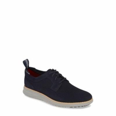 アグ UGG メンズ 革靴・ビジネスシューズ シューズ・靴 Union Derby Hyperweave Derby Navy