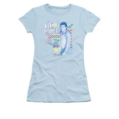 Tシャツ エヌビーシー Saved By The Bell Hey Mama Licensed Junior Shirt S-XXL