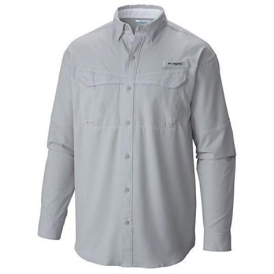 (取寄)コロンビア メンズ ロウ ドラッグ オフショア ロングスリーブ シャツ Columbia Men's Low Drag Offshore LS Shirt Cool Grey / White