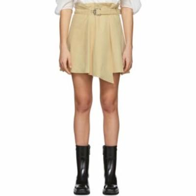 クロエ Chloe レディース ミニスカート スカート beige suede draped miniskirt Sleepy beige