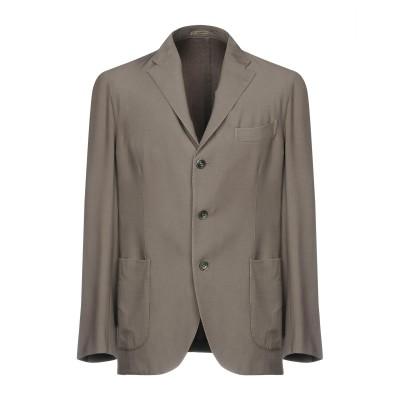 ボリオリ BOGLIOLI テーラードジャケット グレー 52 バージンウール 100% テーラードジャケット