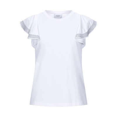 ドンダップ DONDUP T シャツ ホワイト S コットン 100% T シャツ