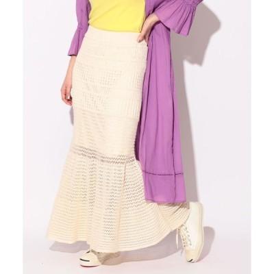 スカート 【WEB限定】BeAMS DOT / チューリップニットスカート