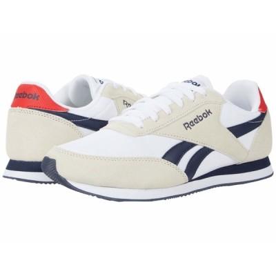 リーボック スニーカー シューズ メンズ Royal Classic Jogger 2 White/Collegiate Navy/Primal Red