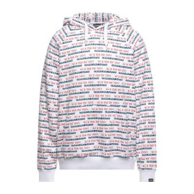 ナパピリ NAPAPIJRI スウェットシャツ ホワイト L コットン 100% / ポリウレタン スウェットシャツ