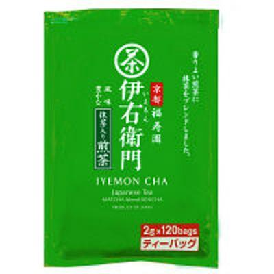 宇治の露製茶宇治の露製茶 伊右衛門 抹茶入り煎茶ティーバッグ 1袋(120バッグ入)