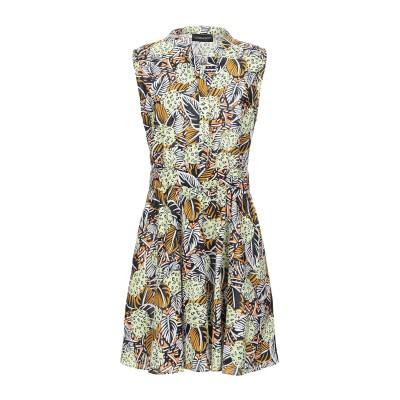 VANESSA SCOTT ミニワンピース&ドレス ビタミングリーン S コットン 100% ミニワンピース&ドレス