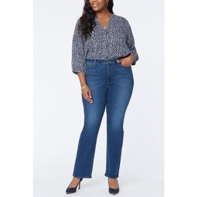 エヌワイディージェイ デニムパンツ ボトムス レディース Plus Size Slim Bootcut Jeans Presidio