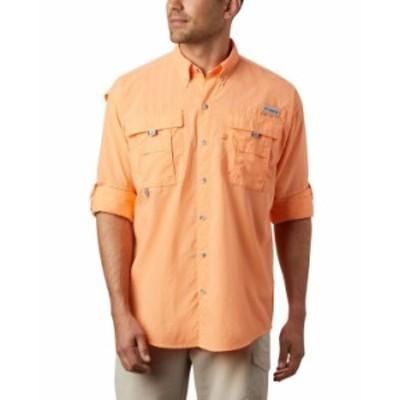 コロンビア メンズ シャツ トップス Men's PFG Bahama II Convertible Shirt Bright Nectar