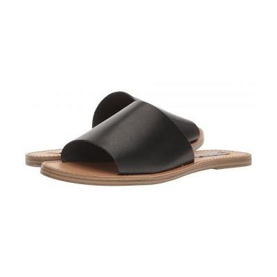 Steve Madden スティーブマデン レディース 女性用 シューズ 靴 サンダル Grace Slide Sandal - Black Leather