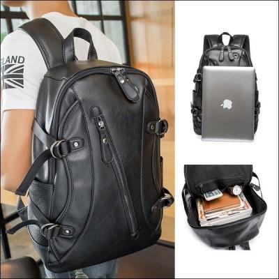 リュック ビジネスバッグ PC 通勤 通学 大人 高校生 メンズ 大容量 リュック A4対応 旅行 レザー おしゃれ 紳士用 出張 男女兼用 レトロ ビジネス