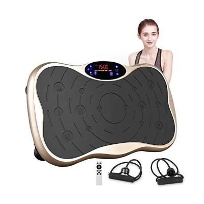 【20年保証】 振動マシン ぶるぶるマシン 静音 ダイエット器具 フィットネス ミニ パワーウェーブ 振動調節99段階 5種類のプログラムモード Bluetooth音楽機能