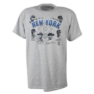 MLB ヤンキース Tシャツ 2013 6プレーヤー シグネチャー SGA グレー【OCSL】