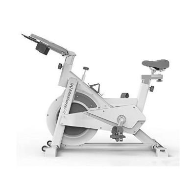 MotionsFit フィットネスバイク スピンバイク 静音 安全 計測メーター エクササイズ トレーニング ダイエット 摩?