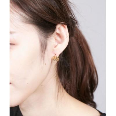 CERCA / LUON/3リングプチピアス WOMEN アクセサリー > ピアス(両耳用)