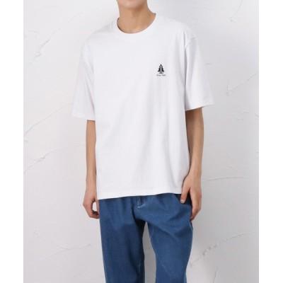 tシャツ Tシャツ ランタンプリント 半袖Tシャツ