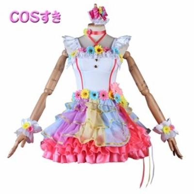 ラブライブ!スクールアイドルフェスティバル 上原 歩夢 うえはら あゆむ 風 コスプレ衣装 コスチューム cosplay 変装 ハロウイン