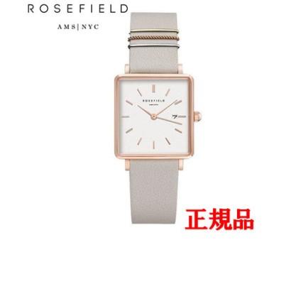 正規品 ROSEFIELD ローズフィールド The Boxy クォーツ メンズ腕時計 QCGRG-Q028