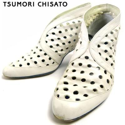 ツモリチサト TSUMORI CHISATO メニーホールショートブーツ (24cm相当)( レディース )【中古】
