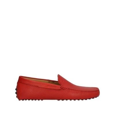 トッズ TOD'S メンズ ローファー シューズ・靴 loafers Brick red