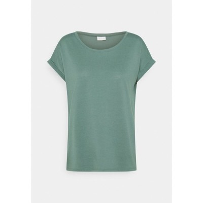 ヴィラ Tシャツ レディース トップス VIDREAMERS PURE - Basic T-shirt - north atlantic