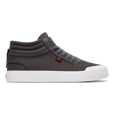 カジュアルシューズ ディーシーシューズ DC Shoes Evan Smith Hi TX High Top Shoes ADYS300383 GREY/BLACK/RED