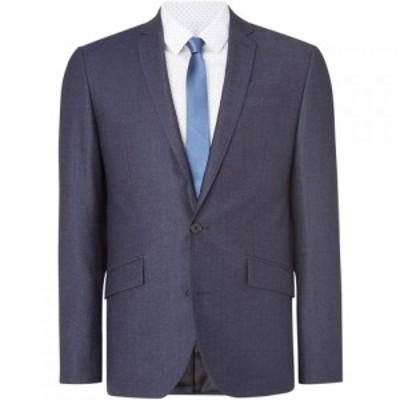 ケネス コール Kenneth Cole メンズ スーツ・ジャケット Gジャン アウター Porter Denim Texture Suit Jacket Blue