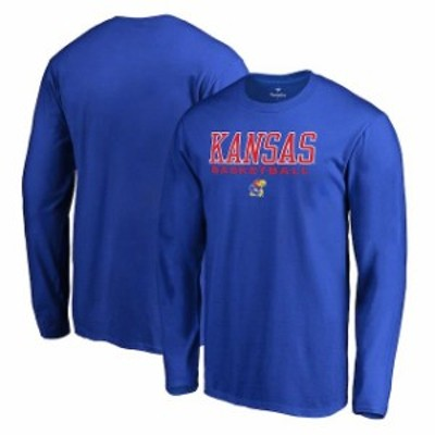 Fanatics Branded ファナティクス ブランド スポーツ用品  Fanatics Branded Kansas Jayhawks Royal True Sport Basketball Long Sleeve