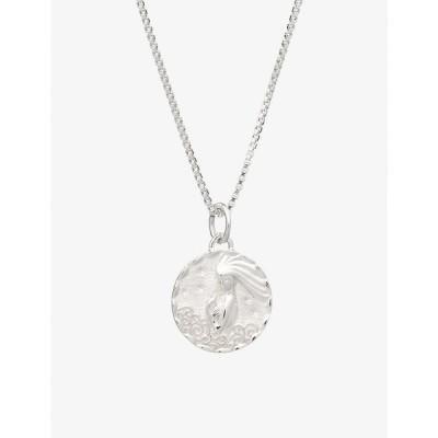 レイチェルジャクソン RACHEL JACKSON レディース ネックレス Zodiac Coin Aquarius Short Sterling Silver Necklace STERLING SILVER