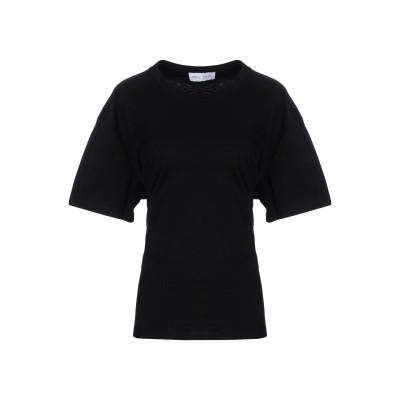 WEILI ZHENG T シャツ ブラック XS コットン 100% T シャツ