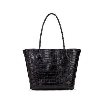 パトリシアナシュ トートバッグ バッグ レディース Leather Eastleigh Tote Black Croc